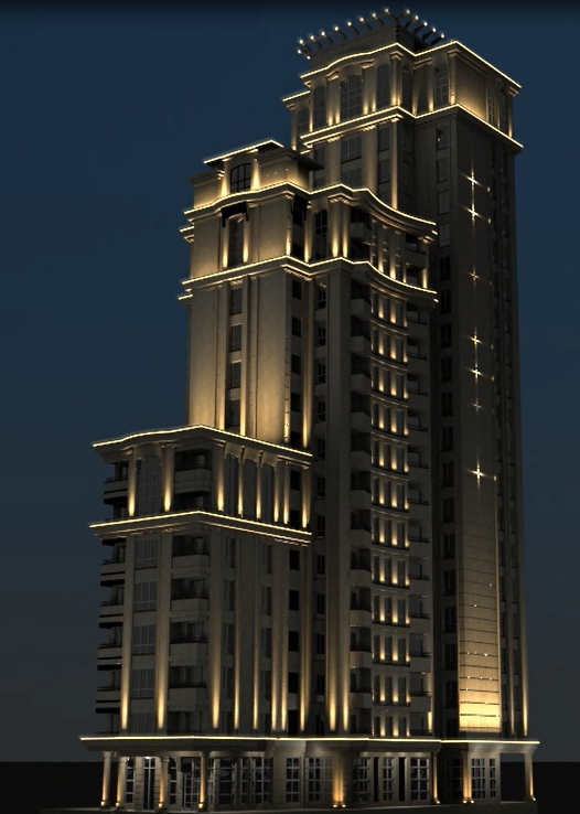 104 متر برج لوکس آرتمیس