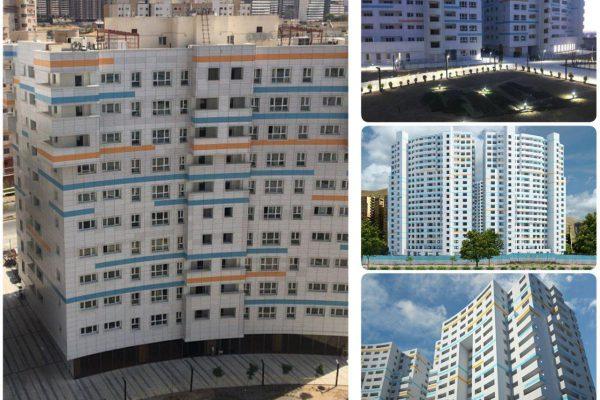 113 متر برج همراه شهر