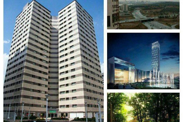 فروش آپارتمان در برج پامچال
